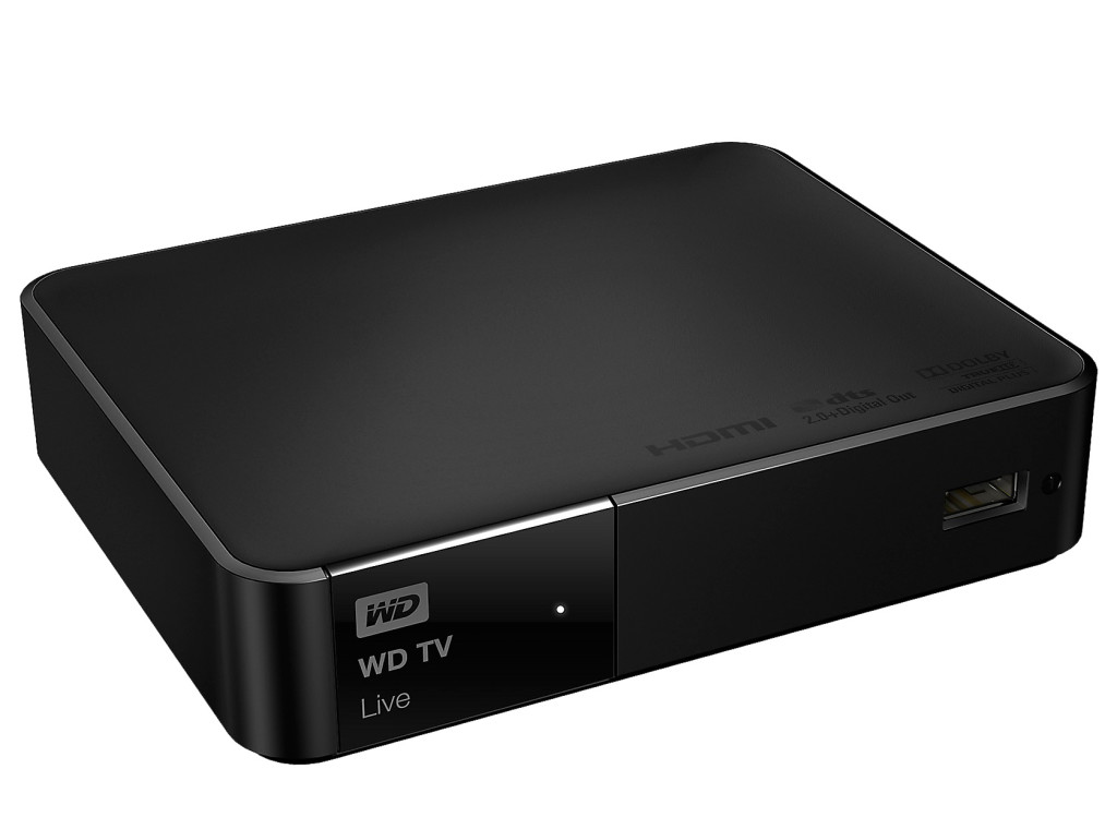 WD TV live.