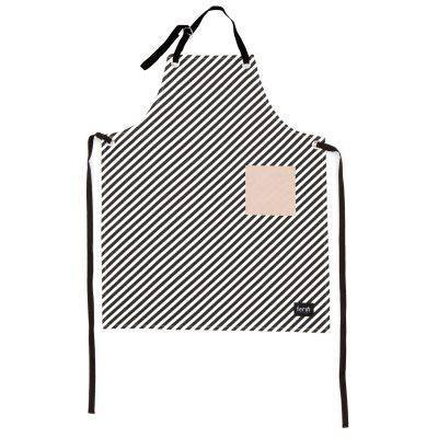 Förkläde black stripe Ferm Living