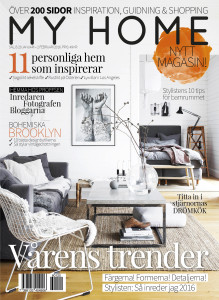 Cover My Home magasin våren 2016